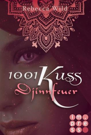Cover von 1001 Kuss. Djinnfeuer © Carlsen Verlag