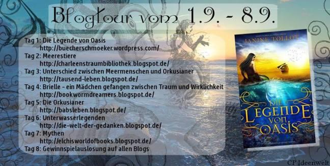 Blogtour Legende von oasis