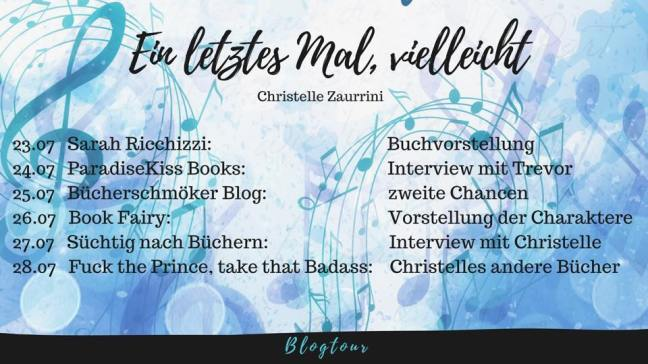 Blogtour Ein letztes Mal, vielleicht (c) Christelle Zaurrini